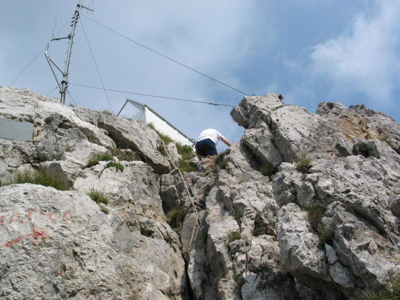 Klek - uspon na vrh
