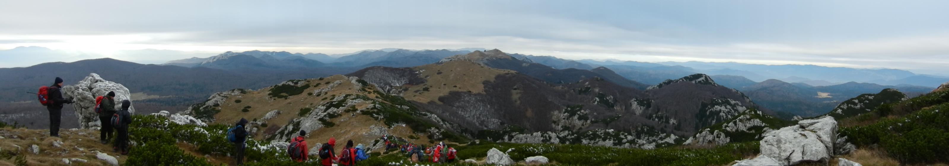 Panorama Snježnika, foto Davor Orsanić